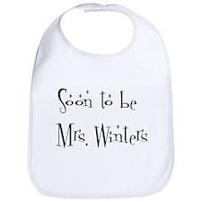 Soon to be   Mrs. Winters Bib