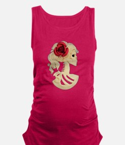 Bella Muerta (Beautiful Dead) Maternity Tank Top