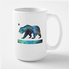 Deep Space California Bear Flag Mugs