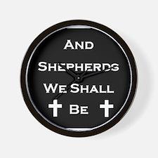 Boondock Saints Shepherds Dark Wall Clock