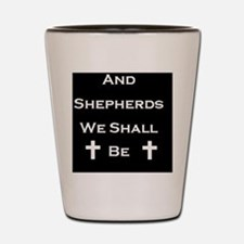 Boondock Saints Shepherds Dark Shot Glass