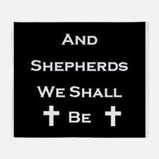 Boondock Saints Shepherds Dark Throw Blanket