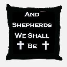 Boondock Saints Shepherds Dark Throw Pillow
