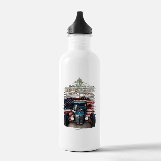 Hot Rod Invasion Water Bottle
