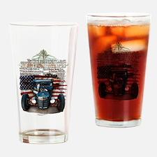 Hot Rod Invasion Drinking Glass