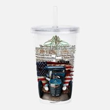 Hot Rod Invasion Acrylic Double-wall Tumbler