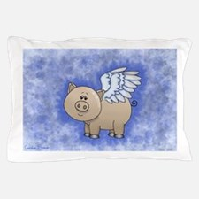 Cool Flying pig Pillow Case