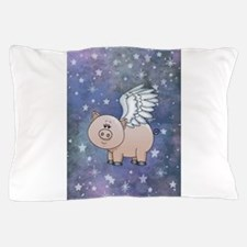 Unique Flying pig Pillow Case