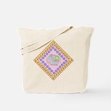 Whimsical Elephant Art Tote Bag