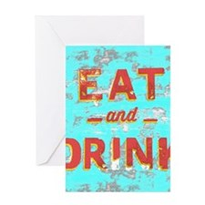 Unique Food and drink Greeting Card