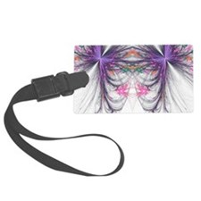 Abstarct Butterfly Luggage Tag