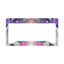 Abstarct Butterfly License Plate Holder