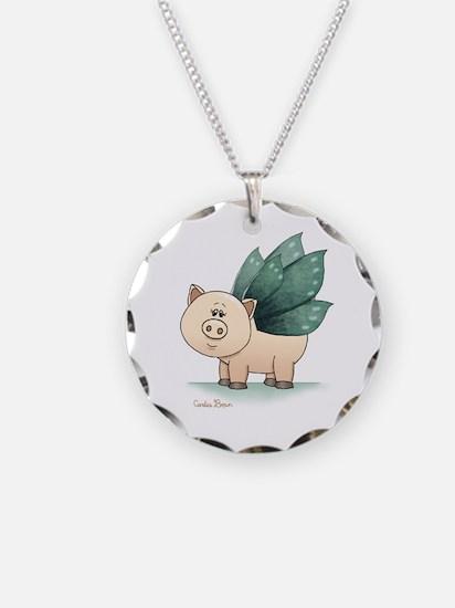 Cute Piggy Necklace