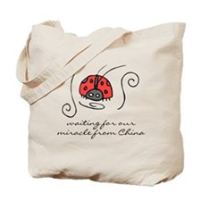 Waiting for our Miracle Tote Bag