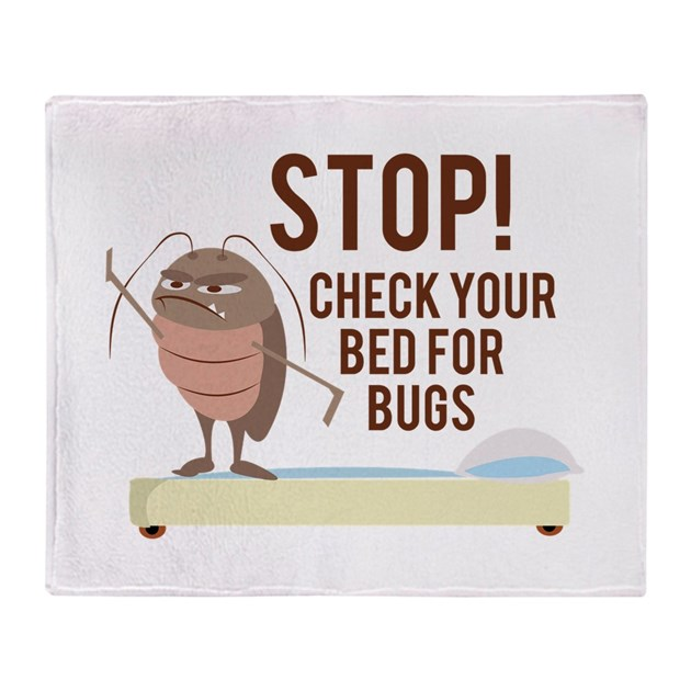 Stop check for bed bugs throw blanket by windmill44 for How do i prevent bed bugs