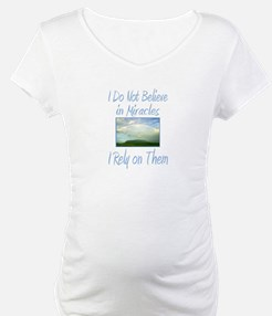 Rely on Miracles Shirt
