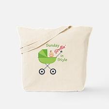 Strollin In Style Tote Bag
