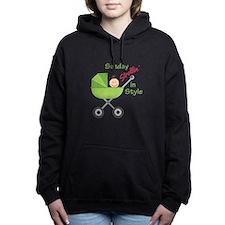 Strollin In Style Women's Hooded Sweatshirt
