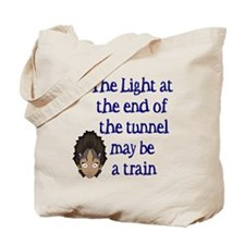 The light at the end... Tote Bag