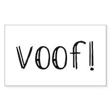 Voof Decal