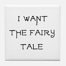 fairy tale Tile Coaster