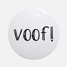 voof Ornament (Round)