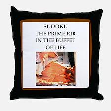 sudoku Throw Pillow