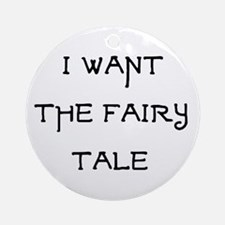 fairy tale Ornament (Round)