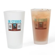 In Stereo Drinking Glass