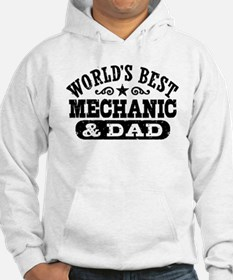 World's Best Mechanic and Dad Hoodie