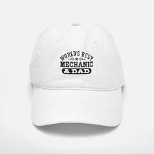 World's Best Mechanic and Dad Baseball Baseball Cap