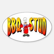 BBQ Stud Oval Decal