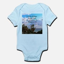 PHILIPPIANS 4:13 Infant Bodysuit