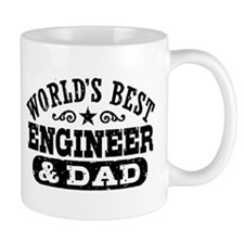 World's Best Engineer and Dad Mug