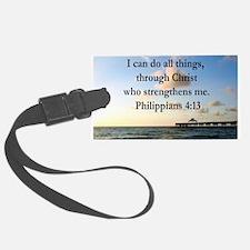 PHILIPPIANS 4:13 Luggage Tag
