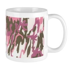 Pink Army Camouflage Mugs