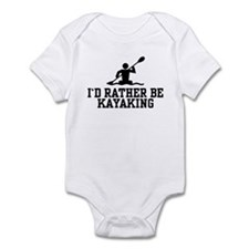 I'd Rather Be Kayaking Infant Bodysuit