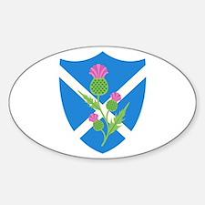 Scottish Shield Decal