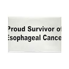 Proud Survivor Rectangle Magnet (10 pack)