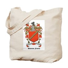 Shannon Family Coat of Arms Tote Bag