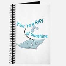 You're A Ray Of Sunshine Journal