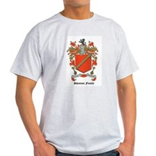 Shannon Family Coat of Arms Ash Grey T-Shirt