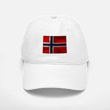 Grunge Norwegian Flag Baseball Baseball Baseball Cap