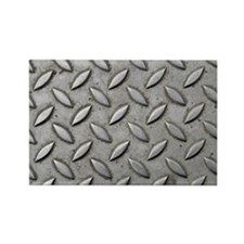Steel Checker Plate Industrial Ch Rectangle Magnet