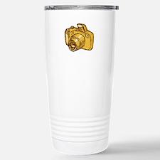 Digital Camera Drawing Travel Mug