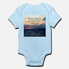 MATTHEW 11:28 Infant Bodysuit