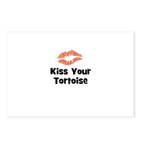 Kiss Your Tortoise Postcards (Package of 8)