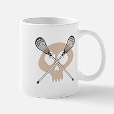Lacrosse skull Mug
