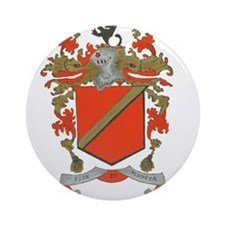 Shannon Family Coat of Arms Ornament (Round)