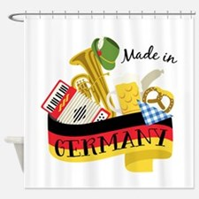 Made In Germany Shower Curtain